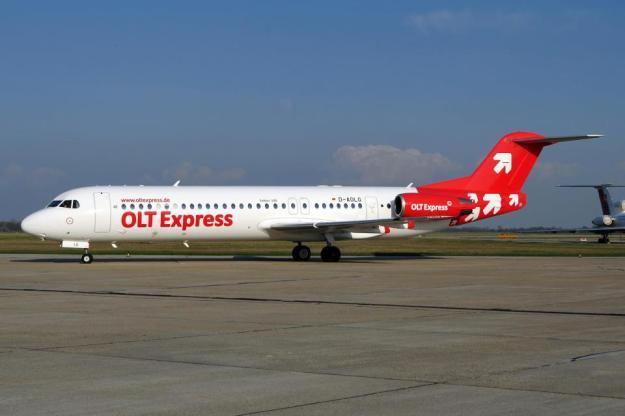 OLT Express (Germany) F28 Mk 0100 D-AOLG (11)(OLT Express)(LR)