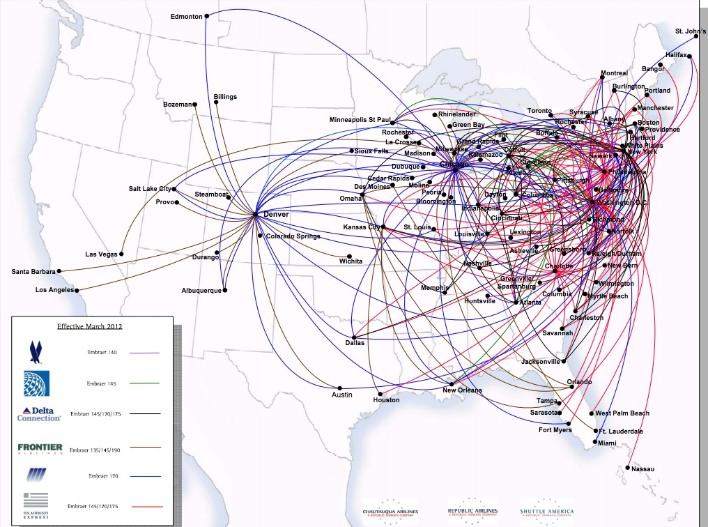 Tam Airlines Route Map International Routes Share The Knownledge