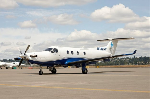 SeaPort PC-12 N932SP (Grd)(SeaPort)(LR)