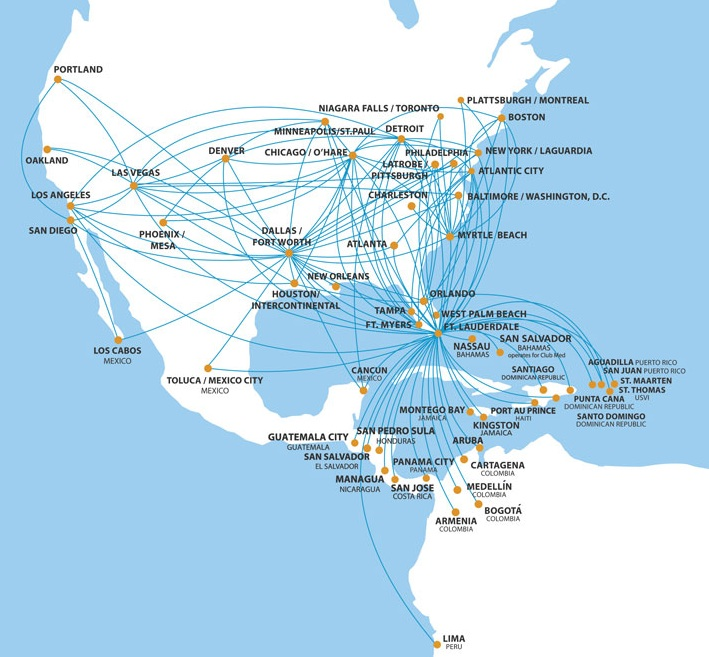 Spirit Airlines announces four new routes starting on April ... on capital airlines route map, austrian airlines route map, saudi arabian airlines route map, trump shuttle route map, korean airlines route map, ted route map, solomon airlines route map, southwest route map, spirit airlines route map, asiana route map, malaysia airlines route map, republic airlines route map, jet airways route map, northwest route map, luxair route map, canjet route map, swiss route map, liat route map, united route map,
