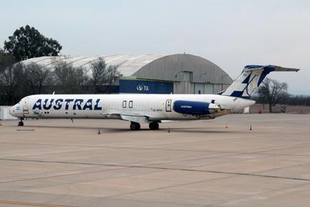 Austral DC-9-81 LV-WFN (07)(Grd) ODB (AR)(LRW)