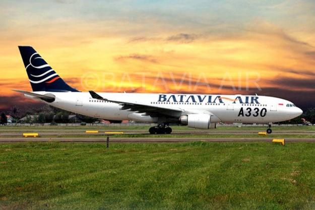 Batavia Air A330-200 (Batavia Air)(LR)