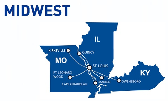 Cape Air Midwest 2:2013 Route Map