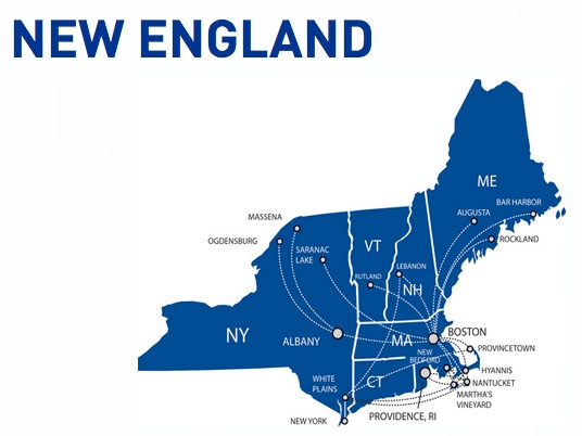 Cape Air New England 2:2013 Route Map