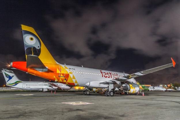 Fastjet A319-100 5H-FJA (12)(Grd)(Fastjet)(LR)