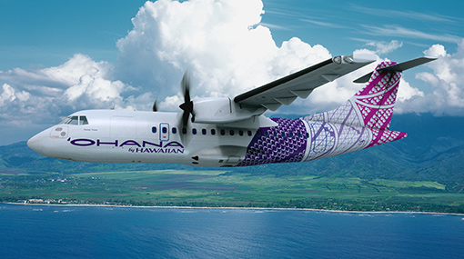Ohana by Hawaiian ATR 42 Design