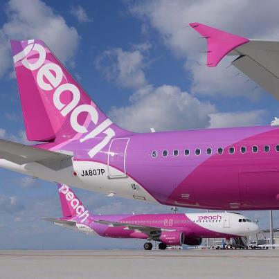 Peach A320-200 (11)(Tails)(Peach)(LR)