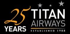 Titan 25 Years logo