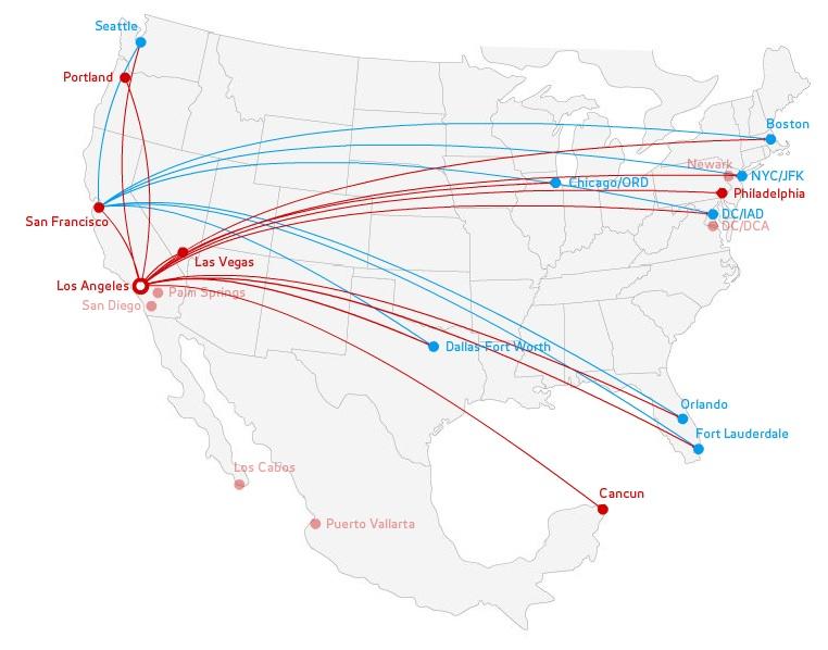 Virgin America is coming to San Jose, California | World Airline News