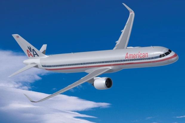 American A321neo (68)(Flt)(Airbus)(LR)