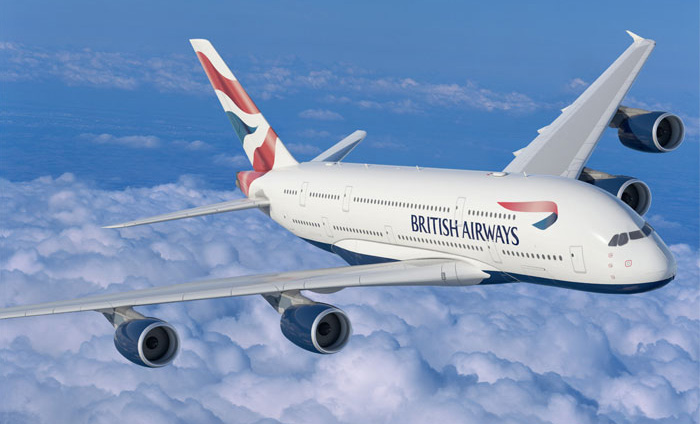 British Airways A380-800 (97-Union flag)(Flt)(British)(LR)