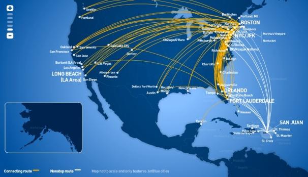 Jetblue To Fly San Juan Chicago O Hare Flights World