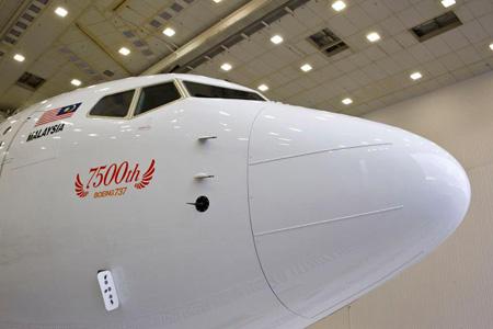 Malindo 737-900ER 9M-LNF (13)(Nose)(Malindo)(LRW)