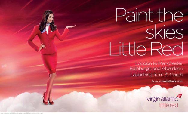 Virgin Atlantic Little Red ad