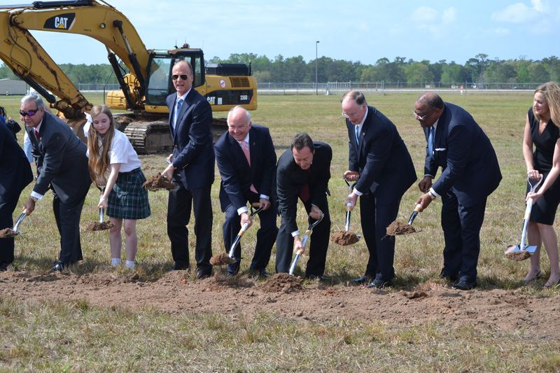 Airbus MOB Groundbreaking
