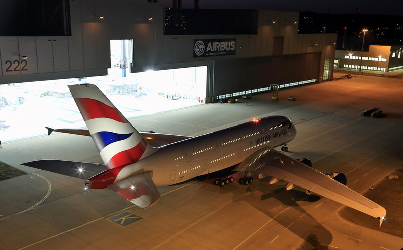 British Airways A380-800 F-WWSK (G-XLEA)(97-Union flag)(Grd-1) XFW (Airbus)(LR)