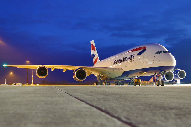 British Airways A380-800 F-WWSK (G-XLEA)(97-Union flag)(Grd) XFW (Airbus)(LR)