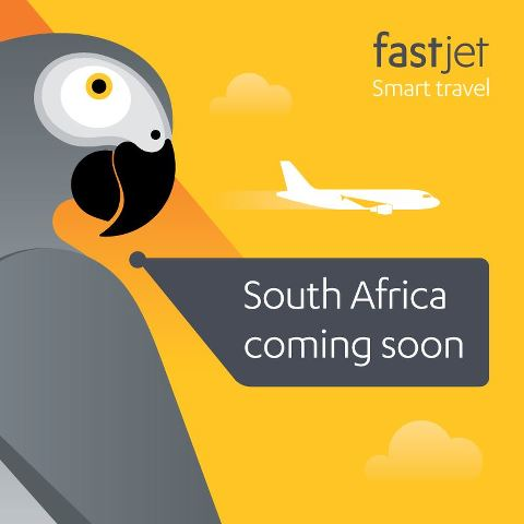 Fastjet South Africa Coming Soon Ad