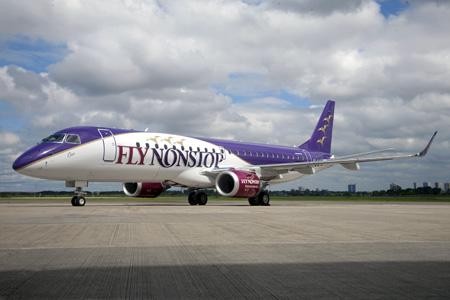 FlyNonstop ERJ 190-100 PT-TJU (PH-FNS)(13)(Grd) SJK (Embraer)(LRW)