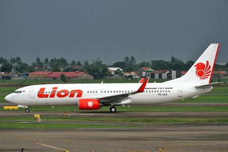 Lion 737-800 WL PK-LKS (02)(Grd) JKT (Leslie Snelleman)(LRW)