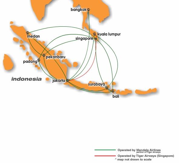 Mandala 4:2013 Route Map