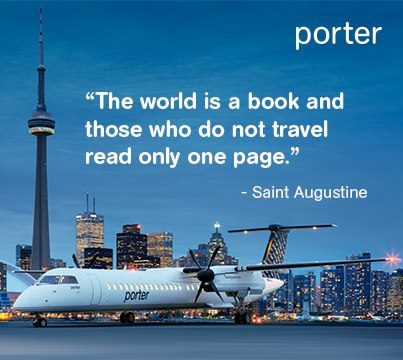 Porter Q400 and Toronto