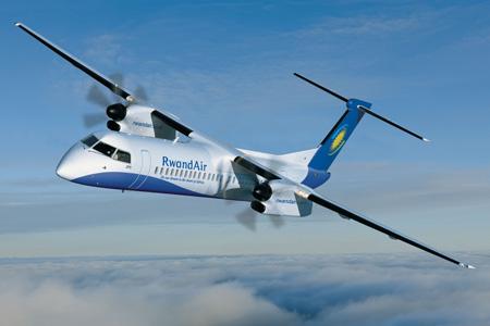 RwandAir DHC-8-400 (09)(Flt)(Bombardier)(LRW)