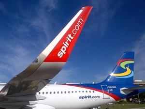Spirit A320-200 WL N619NK (07)(Tail)(Spirit)(LR)