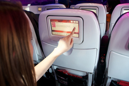 VIRGIN AMERICA COCKTAIL DELIVERY SERVICE
