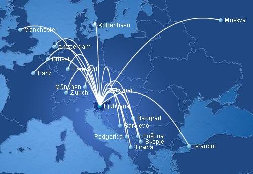 Adria 5:2013 Route Map