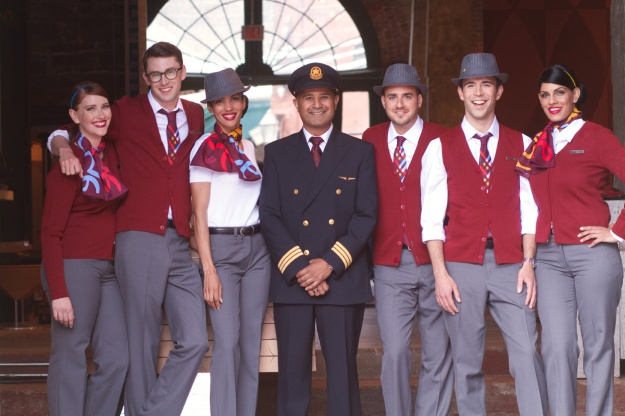 Air Canada rouge group uniforms (AC rouge)(HR)