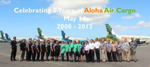 Aloha Air Cargo 5 Years (Aloha Air Cargo)(LR)