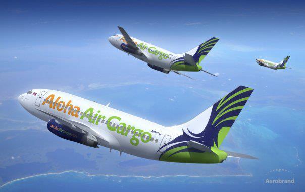 Aloha Air Cargo 737-200 fleet (Aloha Air Cargo)(LR)