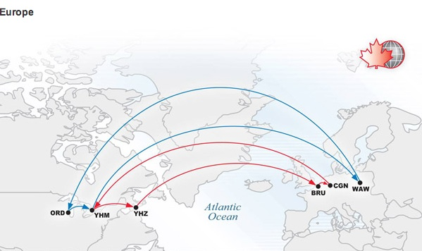 Cargojet 5:2013 European Routes