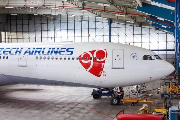 Czech Airlines-CSA A330-300 OK-YBA (07-90 1923-2013)(Nose)(CSA)(LR)
