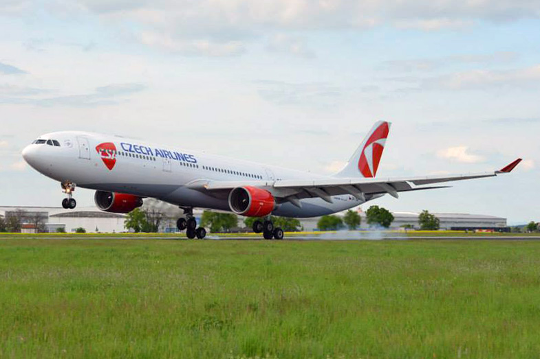 CSA Czech line-air (CSA-Czech Airlines). sayt.2 officiel