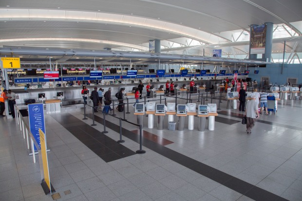 DELTA AIR LINES NEW JFK TERMINAL 4