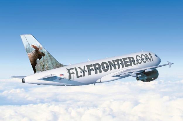FlyFrontier.com A319-100 N954FR (01)(Flt)(Frontier)(LR)