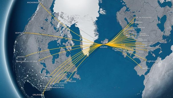 Icelandair 5:2013 Route Map