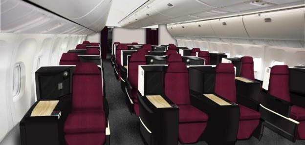 JAL-Japan Airlines Business Class (JAL)(LR)