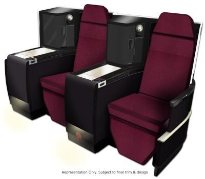 JAL-Japan Airlines Business Class seat (JAL)(LR)