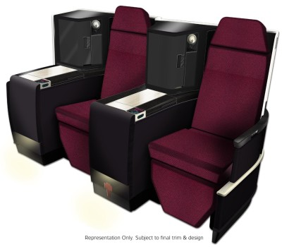 JAL-Japan Airlines Business Class seat (JAL)(LR)