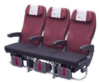 JAL-Japan Airlines Economy Class seat (JAL)(LR)