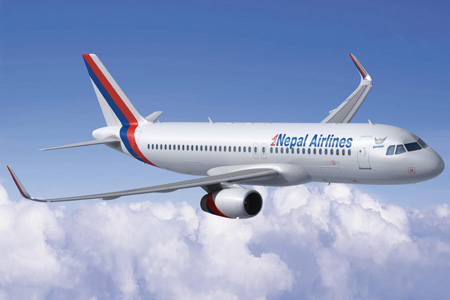 Nepal A320-200 WL (Flt)(Airbus)(LRW)