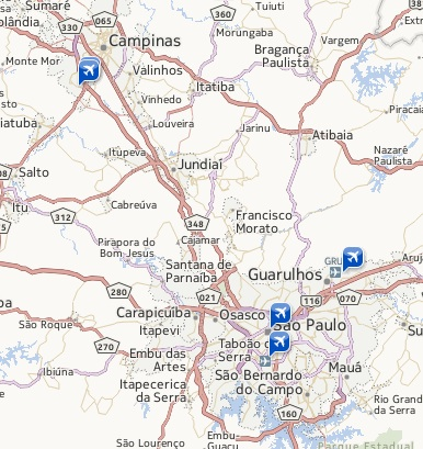 Sao Paulo Airports (Yahoo Travel)