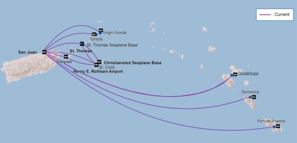 Seaborne 5:2013 Route Map