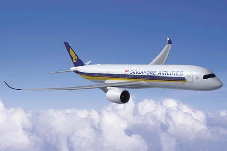 Singapore A350-900 (06)(Flt)(Airbus)(LRW)
