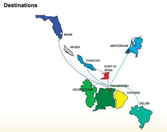 Surinam Airways celebrates 50 years   World Airline News