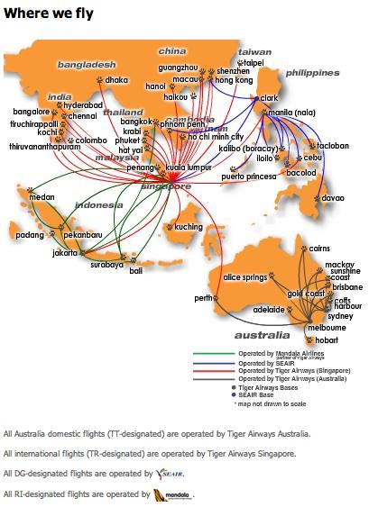 Tiger Airways will offer nonstop Hong Kong-Jakarta flights starting ...