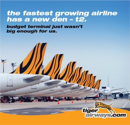 Tiger Airways SIN T5 Ad (Tiger)(LR)